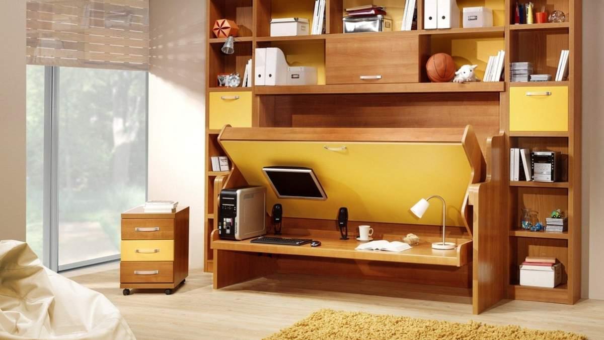 Як сховати ліжко в квартирі