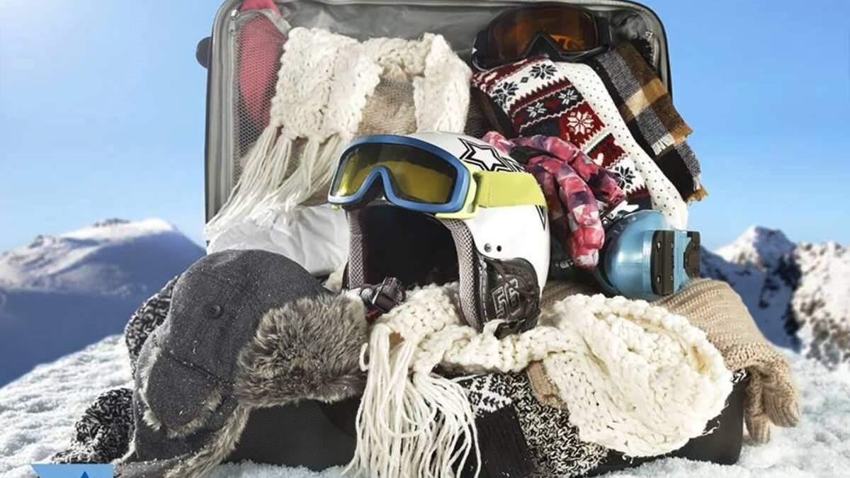 Речі, які потрібно взяти на гірськолижний курорт