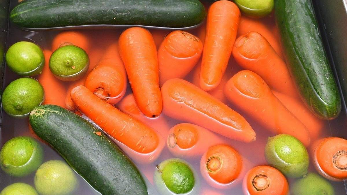 Как правильно мыть фрукты и овощи: видеошпаргалка, удивившая сеть