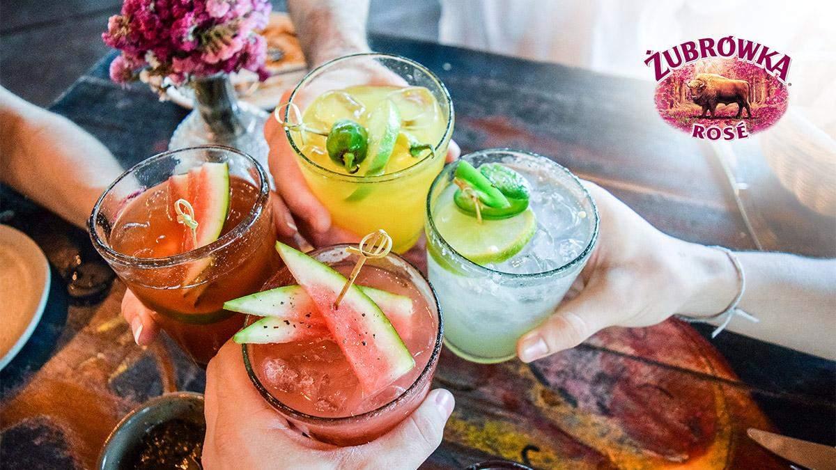Смачні коктейлі із Zubrowka Rose, які можна швидко та легко приготувати вдома – частина 3
