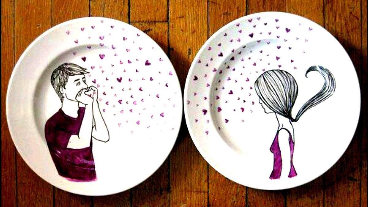 Прості способи прикрасити старий посуд