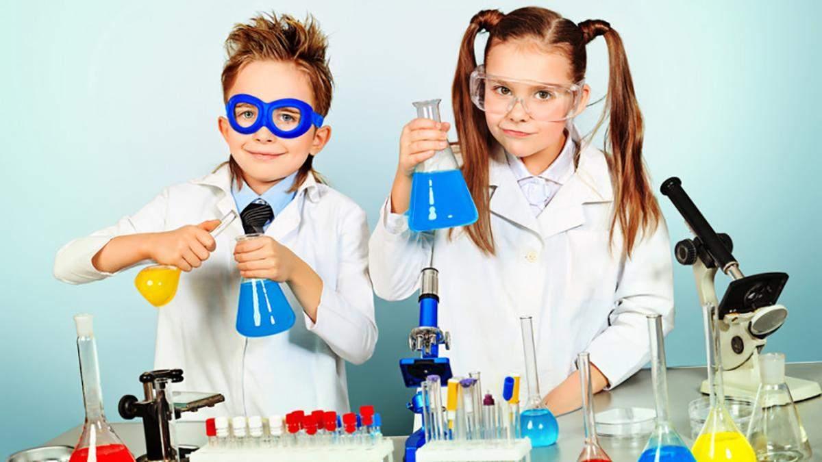4 хімічні експерименти для дітей, які можна провести вдома