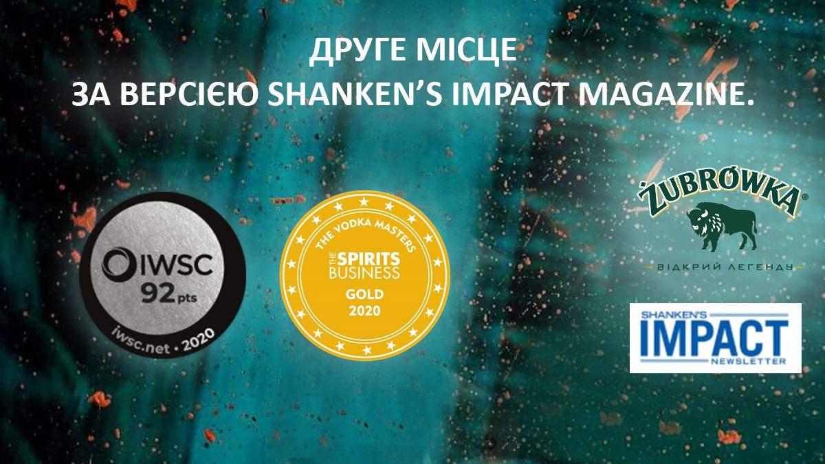 Нові нагороди Zubrowka: історія успіху найтитулованішого алкогольного бренду