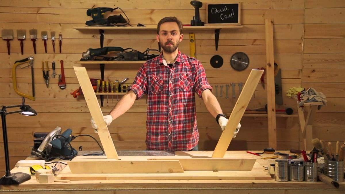 Місця вистачить усім: майструємо зручний стіл для пікніка – інструкція з фото