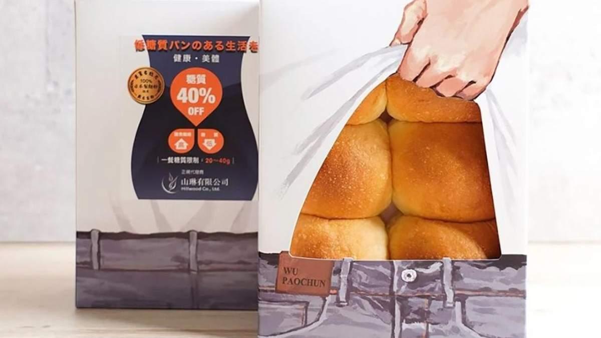Виглядають, як кубики пресу: пекарня у Тайвані креативно упаковує низьковуглеводні булочки - Ідеї