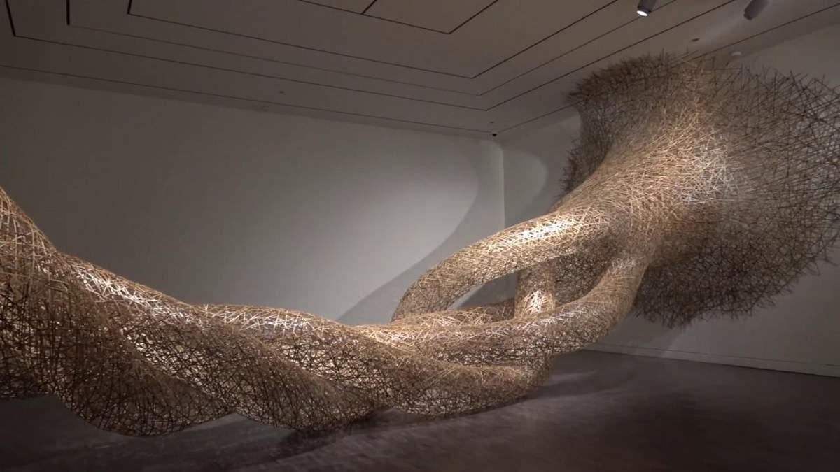 Бамбукові хвилі: митець створює фантастичні фігури, сплітаючи рослини - Ідеї