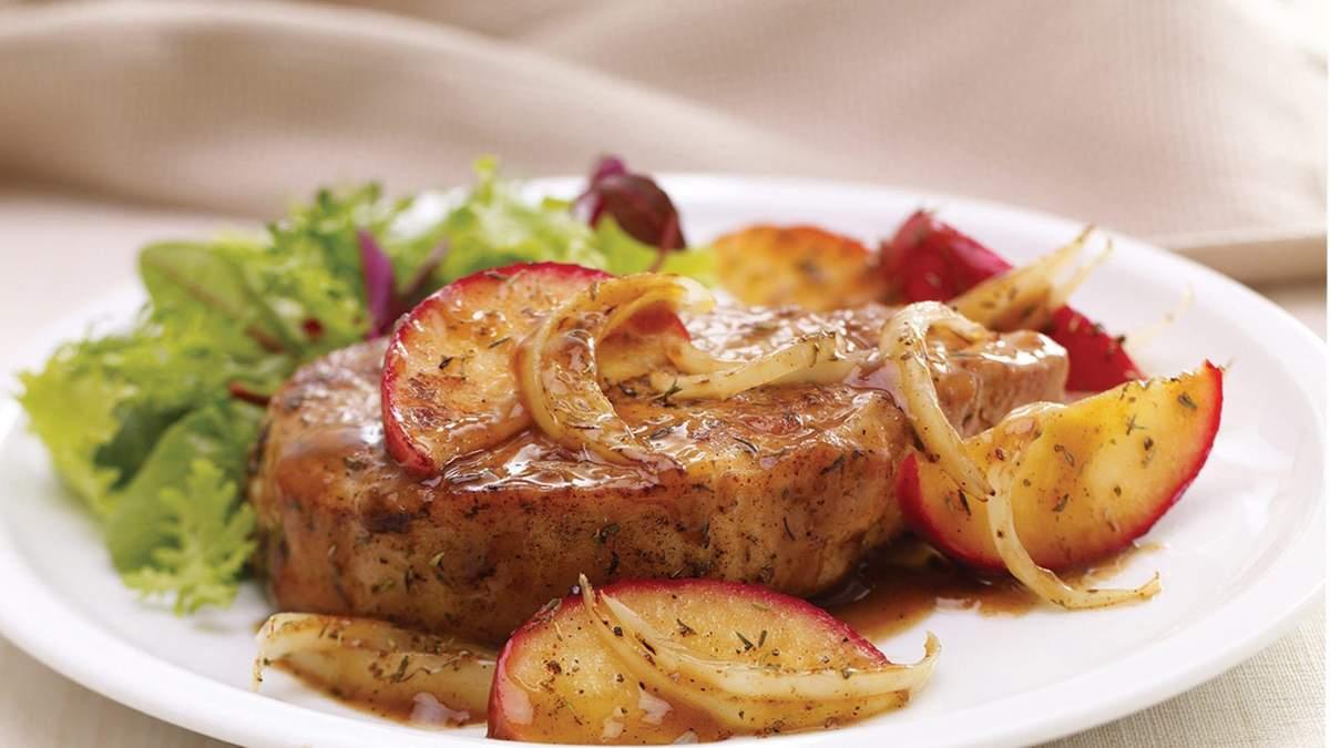 Імбирна свинина з яблуками: оригінальний рецепт стейка на вечерю - Ідеї