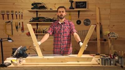 Места хватит всем: мастерим удобный стол для пикника – инструкция с фото