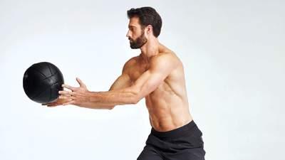 Круговая тренировка с медбол: комплекс упражнений для похудения