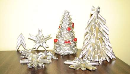 Незвичайна новорічна ялинка своїми руками: 20+ ідей з фото