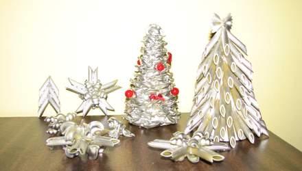 Необычная новогодняя елка своими руками: 20+ идей с фото