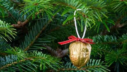 Ялинкові прикраси з горіхів: 10 ідей з фото