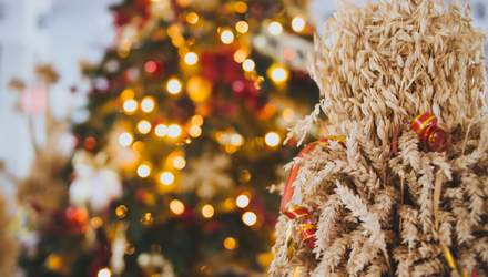 Як зробити оригінальний дідух на Різдво: 10 ідей з фото