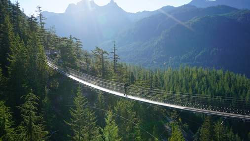 8 підвісних мостів, від яких перехоплює дух