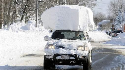 6 типичных ошибок автомобилистов при вождении зимой