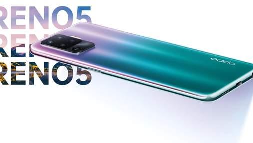 OPPO представила новую линейку смартфонов Reno5: цена и характеристики