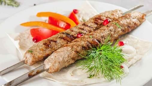 Східна смакота на мангалі: як правильно приготувати люля-кебаб