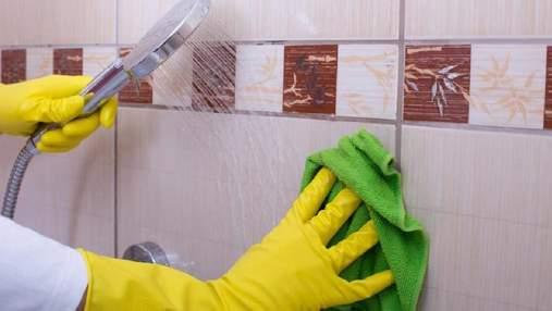 Як почистити плитку у ванній кімнаті до блиску: дієві поради, які збережуть ваші нерви
