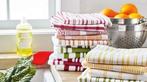Чистота надолго: как легко и быстро отбелить кухонные полотенца