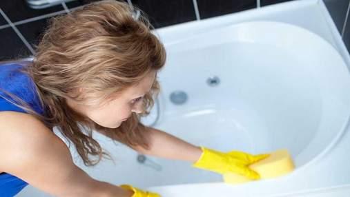 Вапняний наліт та іржа: як відчистити акрилову ванну від цих забрудненнь