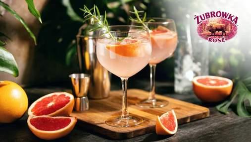 Яскравий напій для літнього релаксу: ділимось простим рецептом Zubrowka Rose Tonic