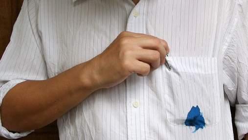Пятна от чернила теперь не проблема: как отстирать шариковую и гелевую ручку
