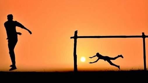 Фотограф делает креативные снимки на закате: захватывающая подборка