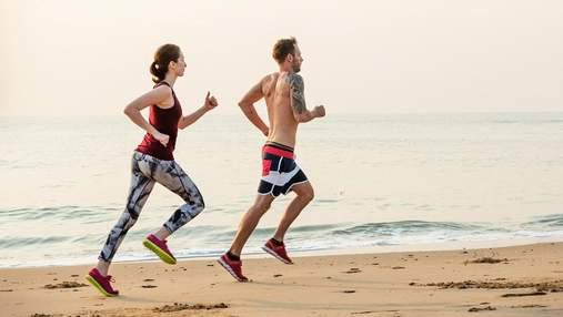 Поєднуйте корисне з приємним: вибухове тренування ніг на березі моря