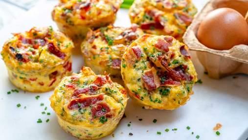 Яєчні мафіни в духовці: як швидко приготувати оригінальний сніданок