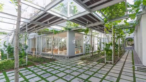 Навчання серед рослин: у В'єтнамі створили дитсадок-оранжерею