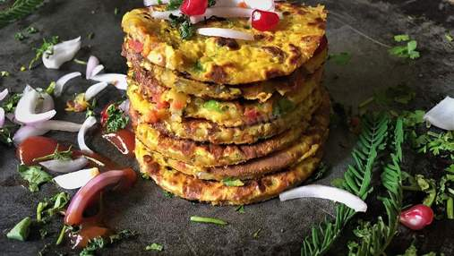 Нутовый омлет: рецепт оригинального варианта веганского завтрака
